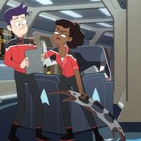 'Star Trek: Lower Decks' Comic-Con clip nods to the franchise's oldest joke