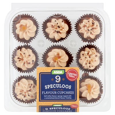 Speculoos Flavour Cupcakes