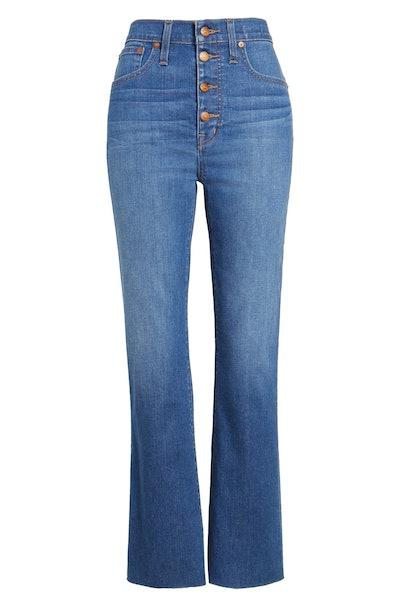 Madewell Plus Size Cali High Waist Demi Boot Jeans