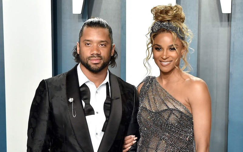 Ciara and Russell Wilson at the Vanity Fair Oscar party