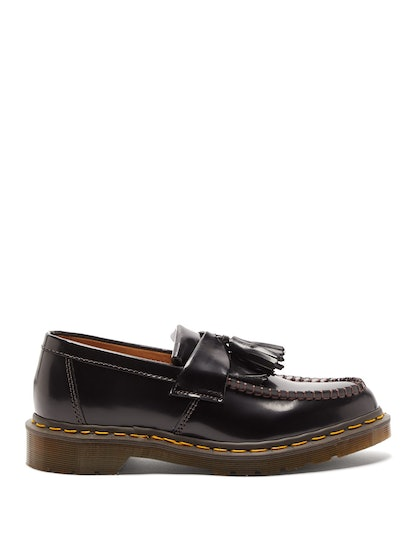 X Dr Martens Adrian tasselled leather loafers