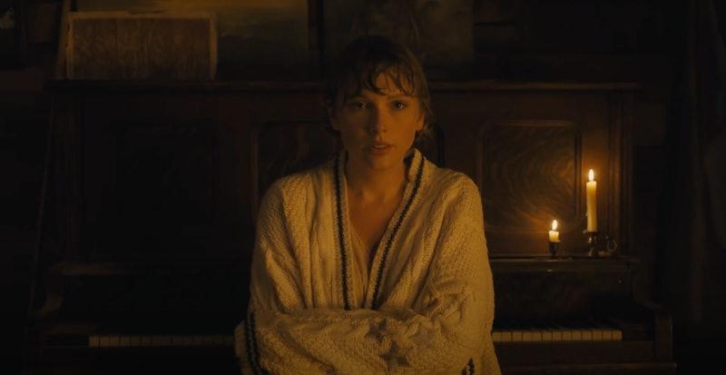 "Taylor Swift's ""Cardigan"" music video"