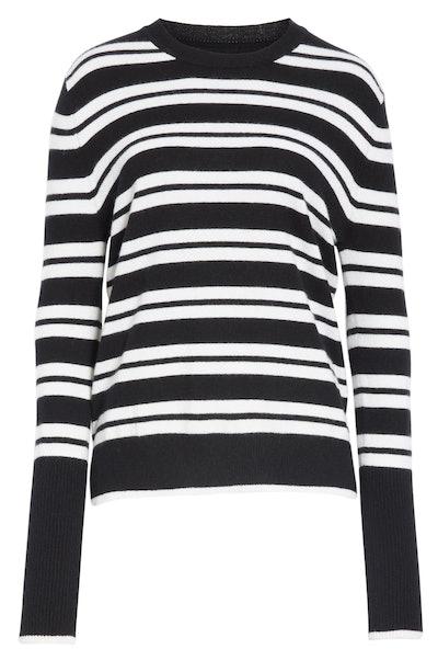 La Ligne Tripe Stripe Cashmere Sweater