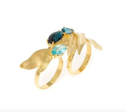 Van Gogh's Irises Ring