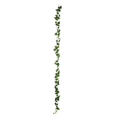 "Vickerman 92"" Artificial Green Ivy Rattan"