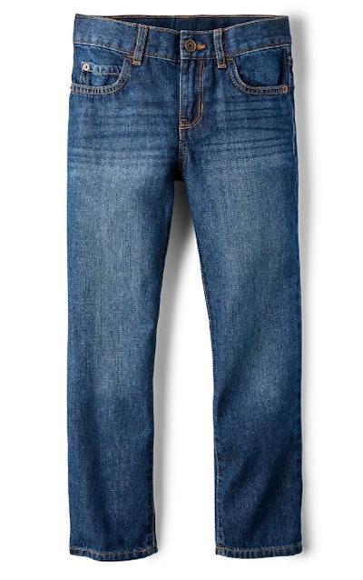 Basic Straight Jeans