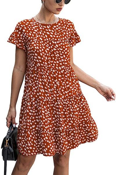 KIRUNDO Summer Women's Mini Dress