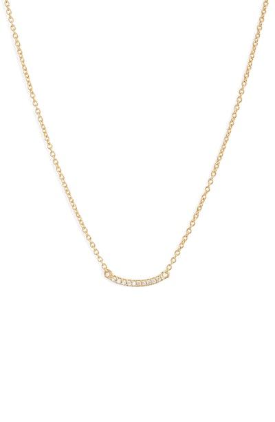 Gorjana Shimmer Mini Bar Necklace
