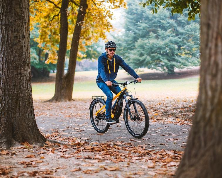Ducati e-Scrambler electric bicycle.