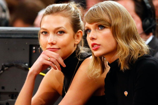 """Taylor Swift fans think """"Betty"""" may be about Karlie Kloss."""