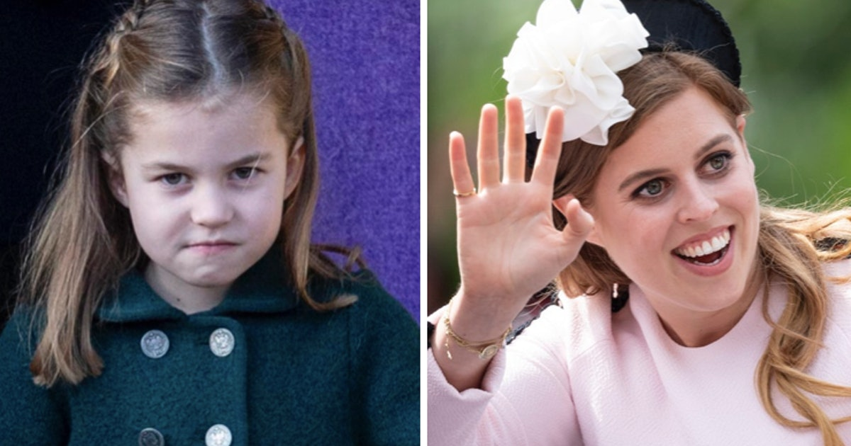 Years Ago, Princess Charlotte Took Toddler Fashion Cues From Princess Beatrice