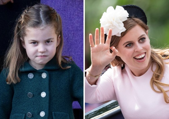 Princess Charlotte might get her style from Princess Beatrice.