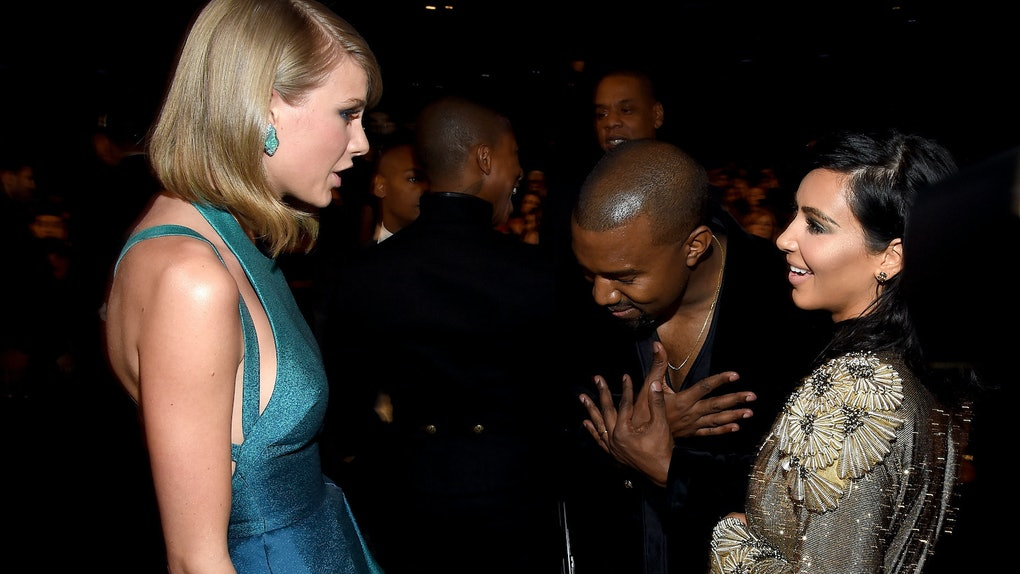 "Taylor Swift fans think ""Mad Woman"" may be about Kim Kardashian and Kanye West."