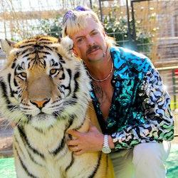 Joe Exotic in 'Tiger King: Murder, Mayhem and Madness' via the Netflix press site