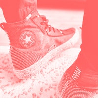 Wearing the 'Crater' Chuck Taylor: A classic gets the trashy Space Hippie vibe