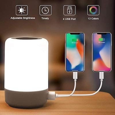 mixigoo Table Lamp Touch Night Light