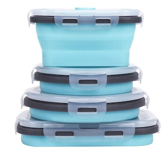 Kuon Collapsible Silicone Food Storage Containers