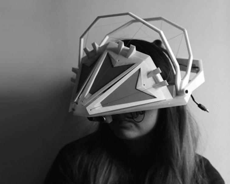 Bloom kaleidoscope headset.