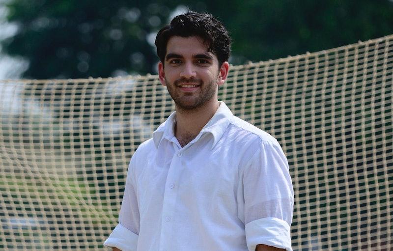 danesh razvi as kabir durrani in a suitable boy for bbc