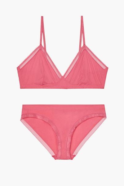 Savage x Fenty Unlined Microfiber Bralette and Bikini Set