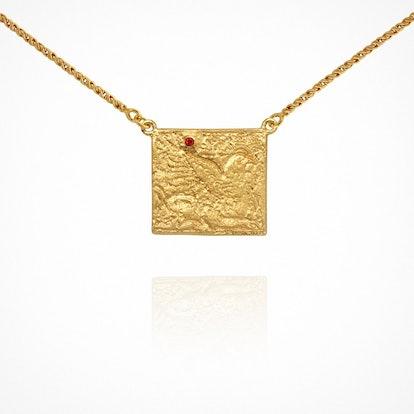 Phoenix Necklace Gold