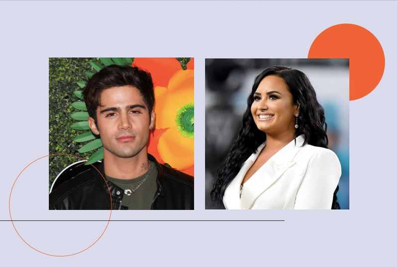 Demi Lovato and Max Ehrich share new photos of their proposal