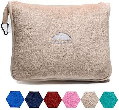 BlueHills Soft Travel Blanket Pillow