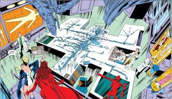 vision marvel comics wandavision mcu