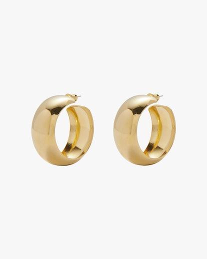 Dome Hoop Earrings