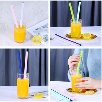 CaNome Reusuable Drinking Straws (4-Pack)