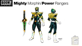 New Green Ranger Power Rangers BOOM! Studios