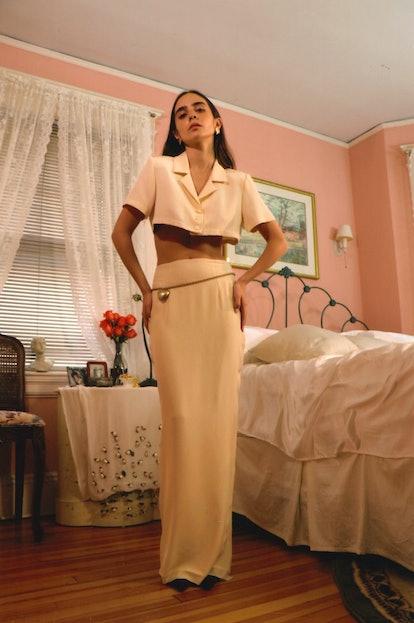 The Skirt in Cream