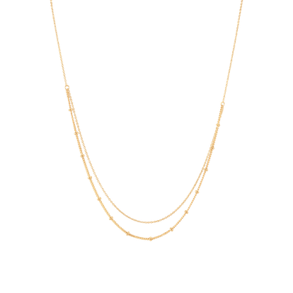 Layered Spheres Necklace
