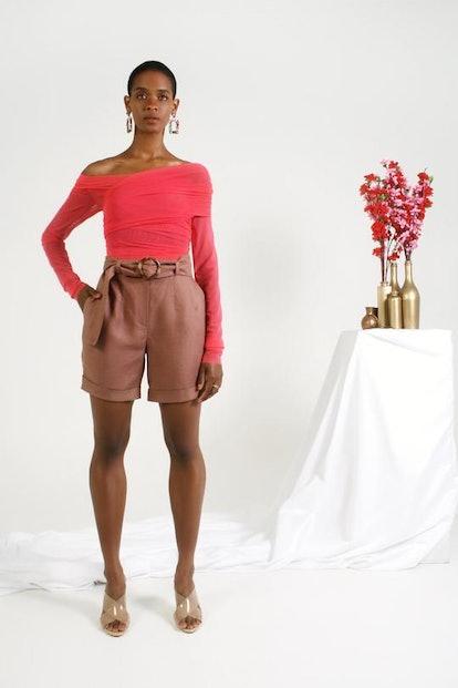 Grown Woman Baggy Shorts - Mute
