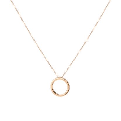 Solid Circle Necklace