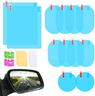 LeeLoon Waterproof Car Mirror Sticker