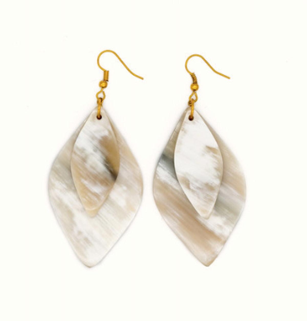 Ankole Horn Stacked Earrings