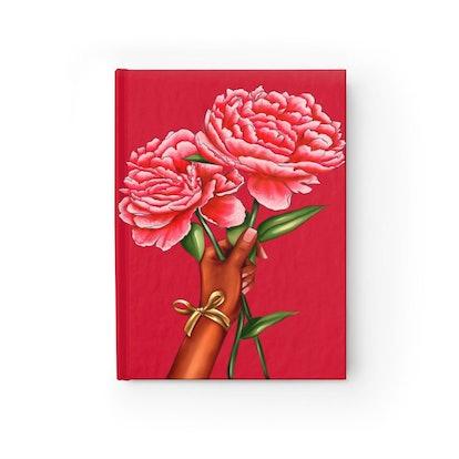 Peonies Journal - Black Girl Flowers