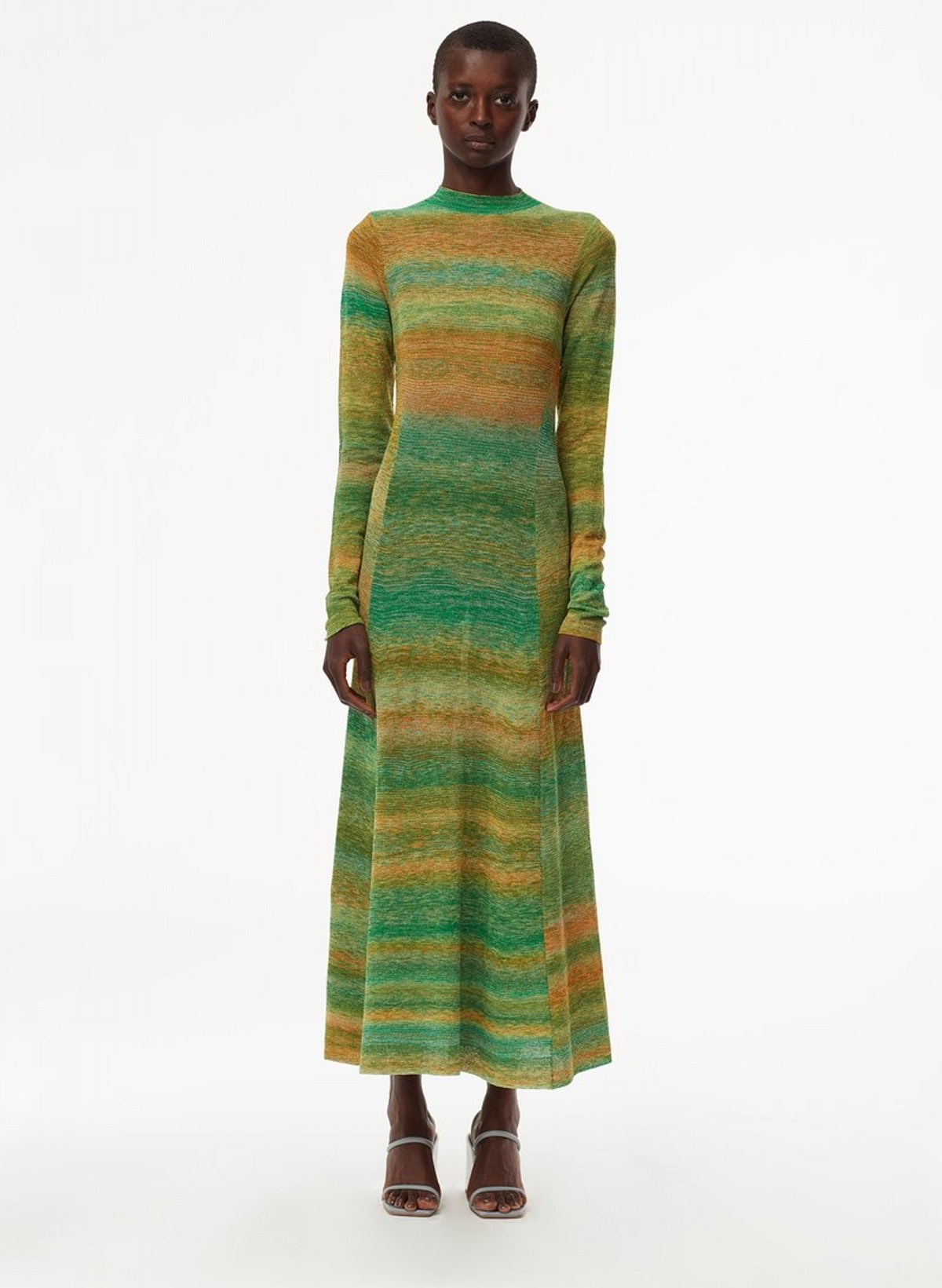 Space Dyed Openback Dress