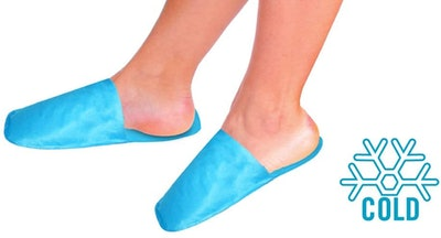 Rapid Relief Cold Therapy Slippers