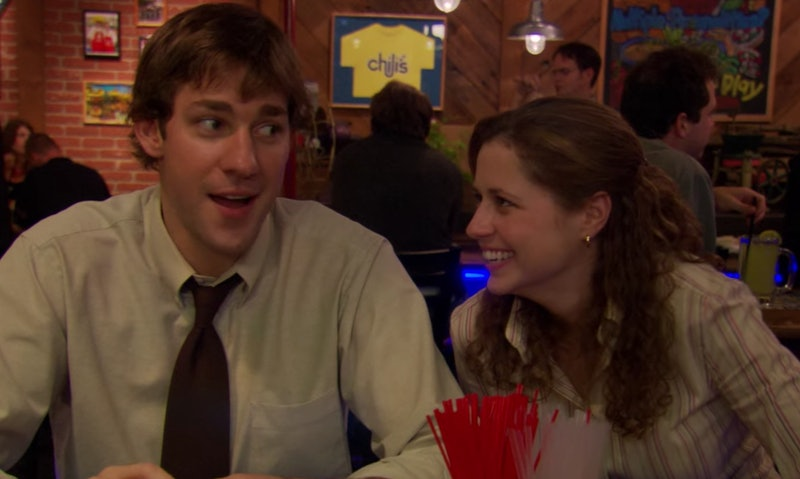 Why Jim & Pam's First Kiss On The Office Was So Special To John Krasinski