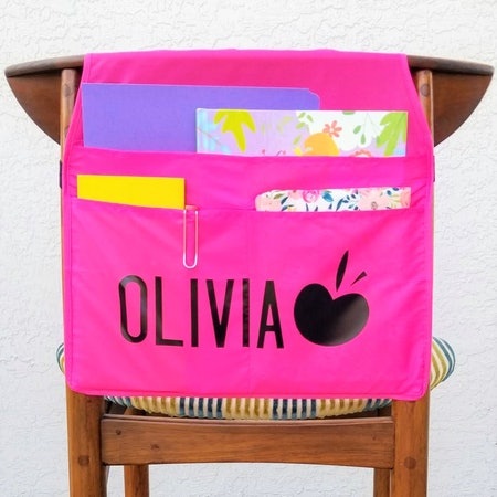 Personalized Chair Back Organizer, Collected Village