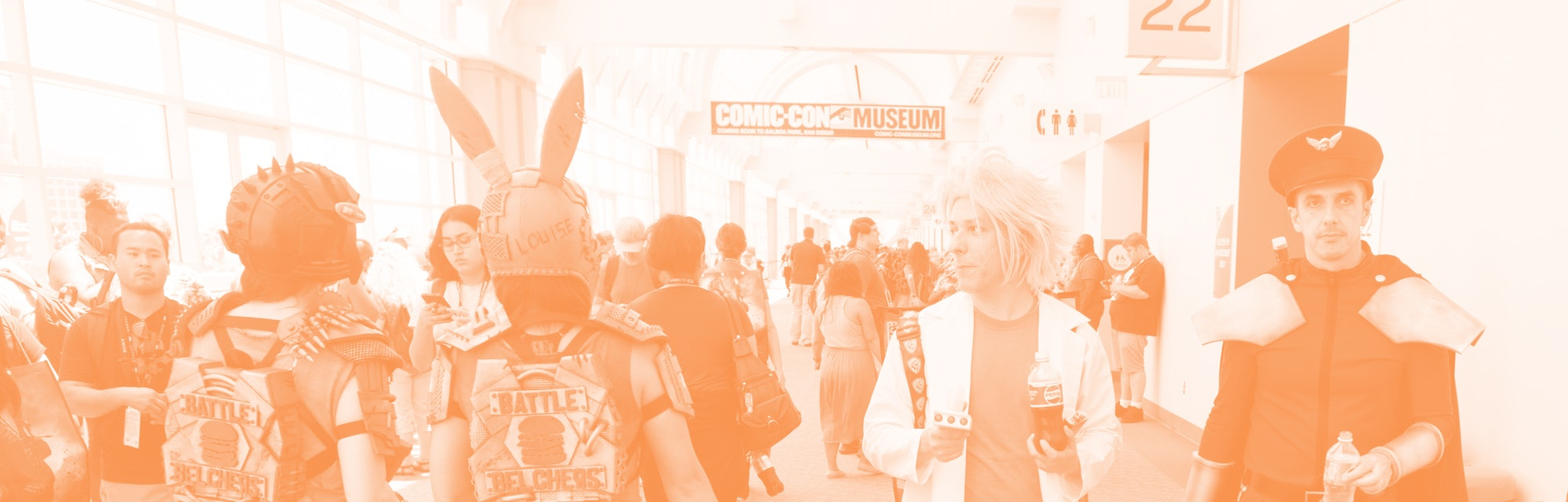 Cosplay at Comic-Con.