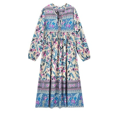R.Vivimos Floral Midi Dress