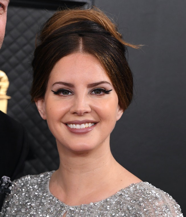 Lana Del Rey arrives at the 62nd Annual GRAMMY Awards at Staples Center on January 26, 2020 in Los A...