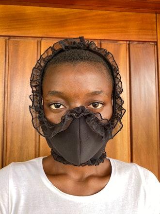 Ruffle Face Mask
