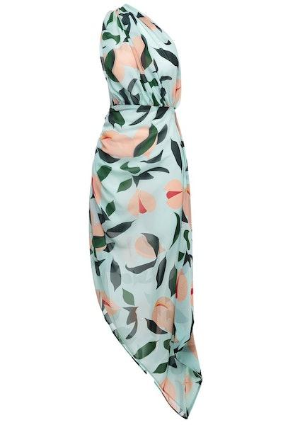 Nutmeg One Shoulder Dress