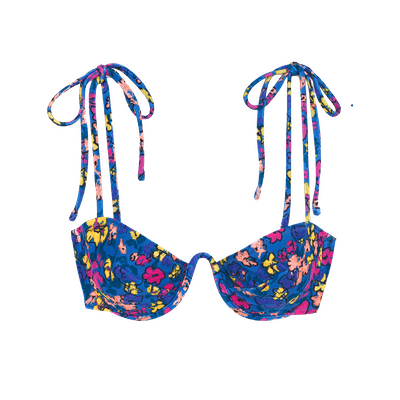 Myriam Bikini Top Macaw Floral