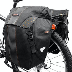 Ibera Clip-On Quick-Release All Weather Bike Panniers