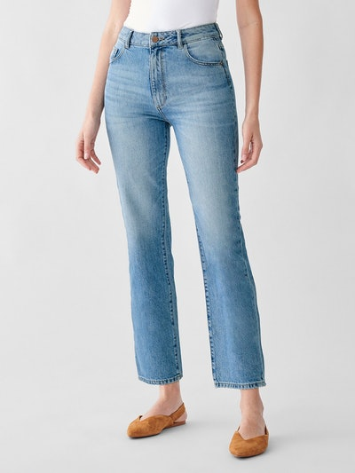 Jerry High Rise Vintage Straight Jean